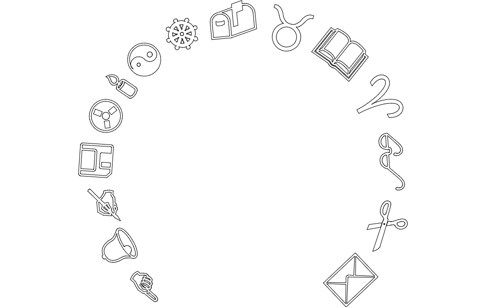 Daily Symbol Free DXF File