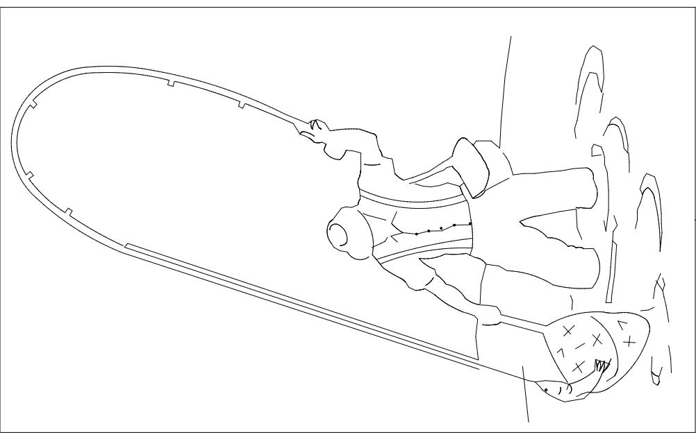 Fishing Art Free DXF File