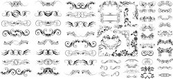 Swirl Collections Free CDR Vectors Art