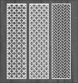 Design Interwoven Column Bulkhead For Laser Cut Cnc Free DXF File