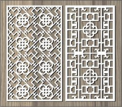 Money Flower Shaped Partition For Laser Cut Cnc Free DXF File