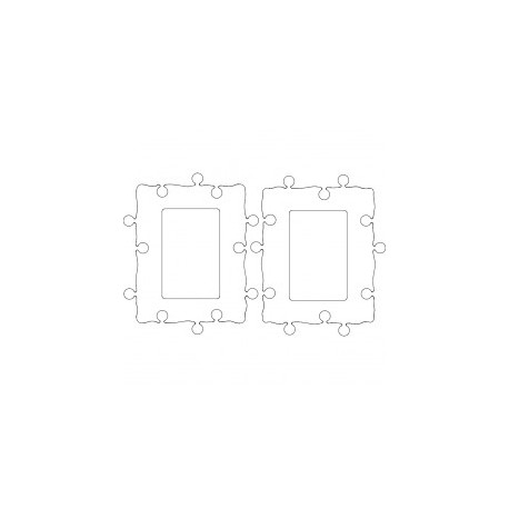 Cadres Photo 10×15 Free DXF File