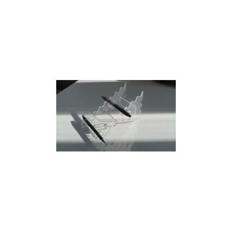 Pen Holder 3mm Plexi Free DXF File
