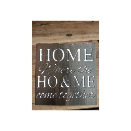 Home Ho And Me Free DXF File