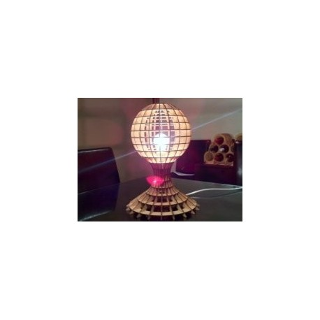 Table Lamp Laser Cut Free DXF File