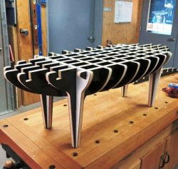 Assembly Table Gourd For Laser Cut Cnc Free CDR Vectors Art