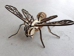 Bee Assembly Model For Laser Cut Cnc Free CDR Vectors Art