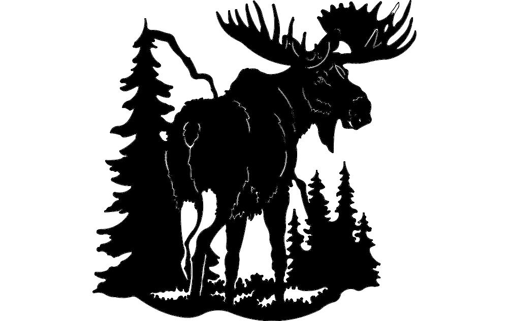 Moose 1 Free DXF File