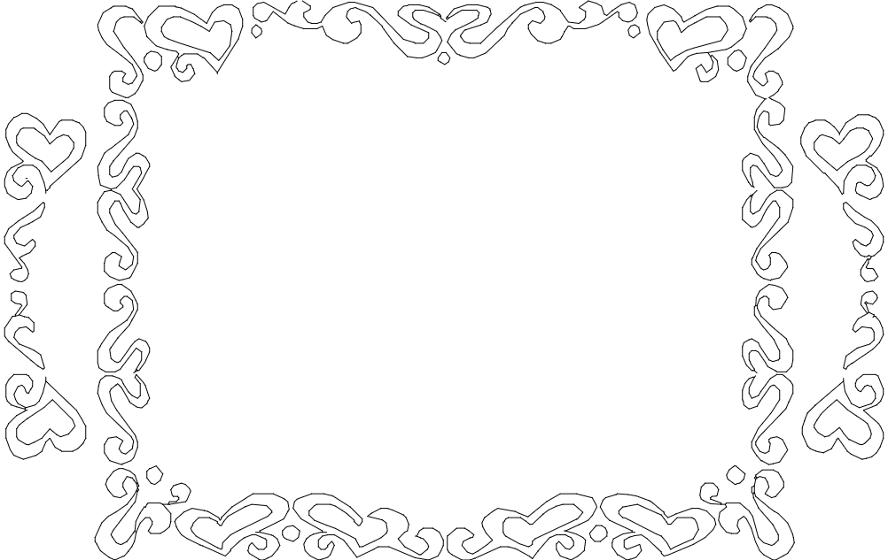 Frame Design Classic Free DXF File