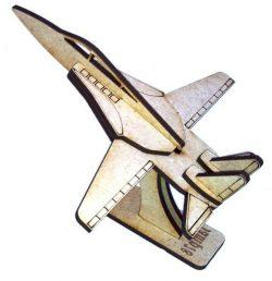 f14 Aircraft Assembly Model For Laser Cut Cnc Free CDR Vectors Art