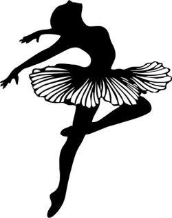 Female Dancer Bale For Laser Cut Plasma Free CDR Vectors Art