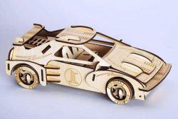 Formula 1 Racing Assembly Model For Laser Cut Cnc Free CDR Vectors Art