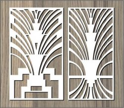 Arc Shaped Curves For Laser Cut Cnc Free DXF File