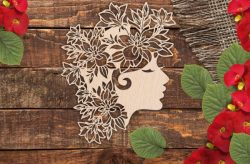 Girl Power For Laser Cut Cnc Free DXF File