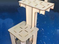 Mdf Wooden Bracket For Laser Cut Cnc Free DXF File