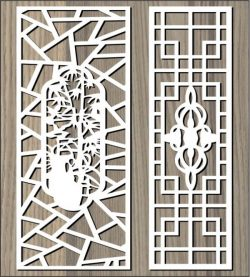 Ancient Pattern Behind The Garden For Laser Cut Cnc Free CDR Vectors Art