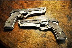 Assembling Wooden Toy Gun For Laser Cut Cnc Free CDR Vectors Art
