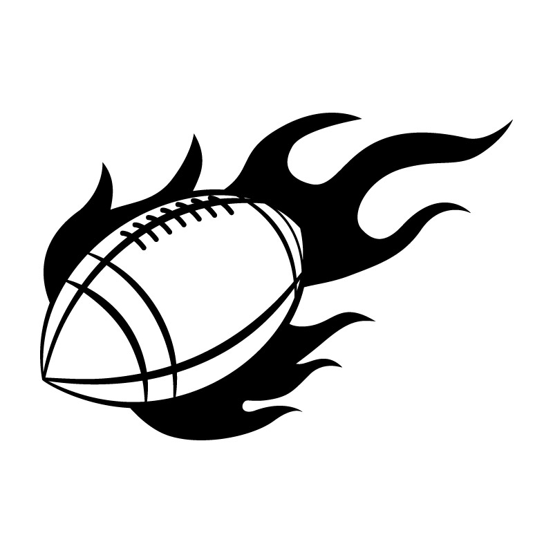 Fire Football Free DXF File
