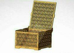 Chrysanthemum Jewelry Box For Laser Cut Cnc Free CDR Vectors Art