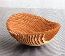 Flower Basket For Laser Cut Cnc Free CDR Vectors Art