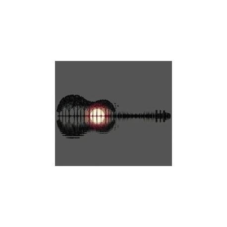 Guitar Jenny Lamp Free DXF File