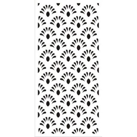 Jali Design Flourishing Floral Design Pattern Free DXF File