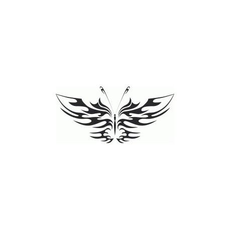 Tattoo Tribal Butterfly Art Free DXF File