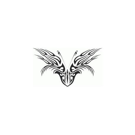 Tribal Butterfly Art 46 Free DXF File