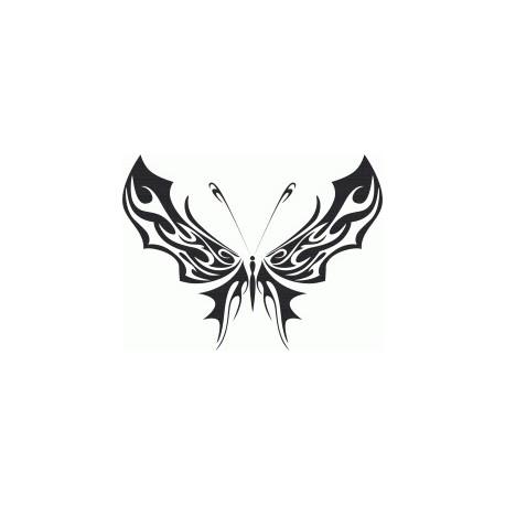 Tribal Butterfly Art 35 Free DXF File