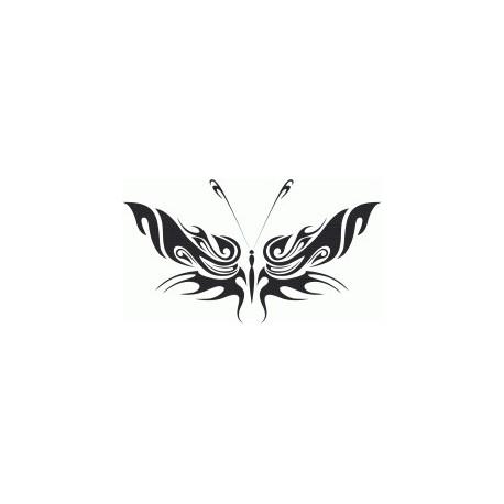 Tribal Butterfly Art 34 Free DXF File