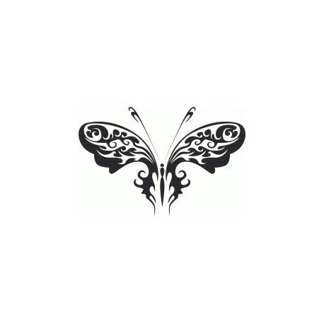 Tribal Butterfly Art 30 Free DXF File