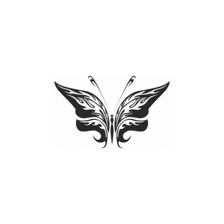 Tribal Butterfly Art 25 Free DXF File