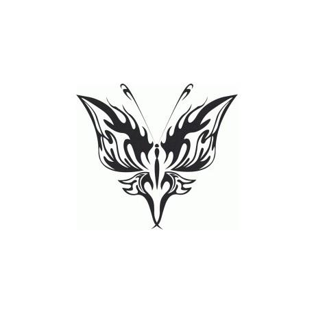 Tribal Butterfly Art 21 Free DXF File