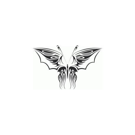 Tribal Butterfly Art 12 Free DXF File