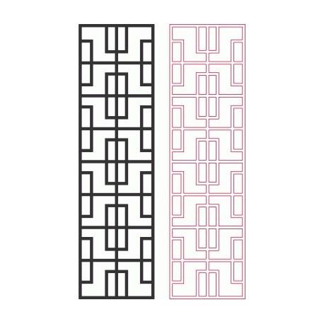 Geometric Pattern Designs 2d Free DXF File