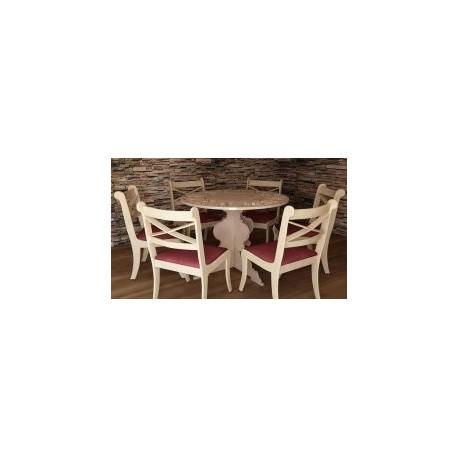Masem Yemek Masasi Chair Table Free DXF File