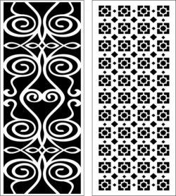 Hook Twist Baffle Design For Laser Cut Cnc Free DXF File