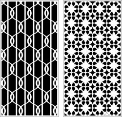 Design Pattern Panel Screen k92 For Laser Cutting Cnc Free DXF File