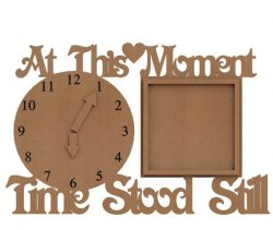Wooden Clock Plans For Laser Cut Free DXF File