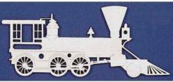 2 Head Locomotive For Laser Cut Free CDR Vectors Art