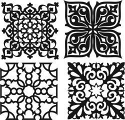 Beautiful Decorative Pattern For Laser Cut Cnc Free CDR Vectors Art