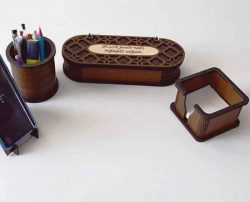 Creative Box Template For Laser Cut Free CDR Vectors Art