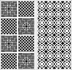 Design Pattern Panel Screen k90 For Laser Cutting Cnc Free CDR Vectors Art