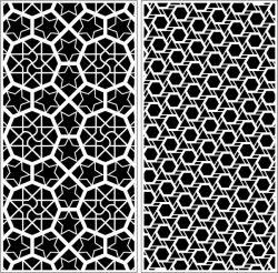 Design Pattern Panel Screen k994 For Laser Cutting Cnc Free CDR Vectors Art