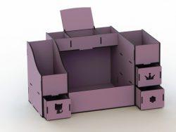 Drawer Box For Laser Cut Cnc Free CDR Vectors Art