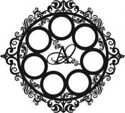 Frame For Wedding Decoration For Laser Cut Cnc Free CDR Vectors Art