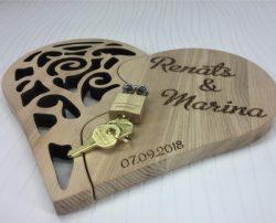 Heart Locked For Laser Cut Free CDR Vectors Art