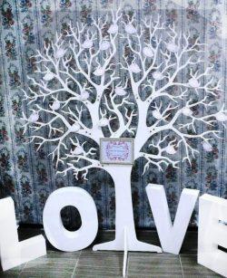 Love Tree For Laser Cut Cnc Free CDR Vectors Art