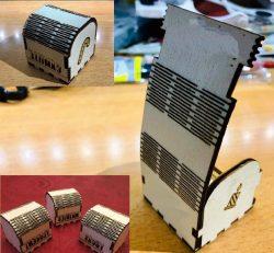 Noel Box For Laser Cut Cnc Free CDR Vectors Art