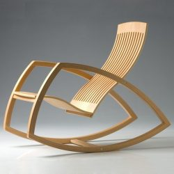 Oak Rocking Chair For Laser Cut Cnc Free CDR Vectors Art